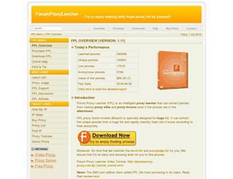 forumproxyleecher.com screenshot