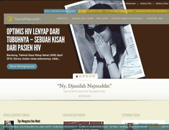 djamilah-najmuddin.com screenshot