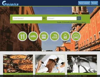 Thumbshot of Guialis.com.mx