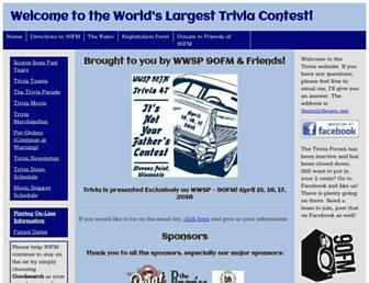 90fmtrivia.org screenshot