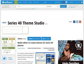 series-40-theme-studio.en.softonic.com screenshot