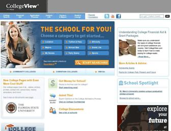 Thumbshot of Collegeview.com
