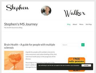 mymultiplesclerosis.co.uk screenshot