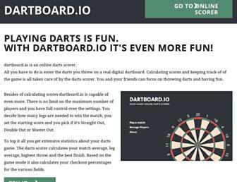dartboard.io screenshot