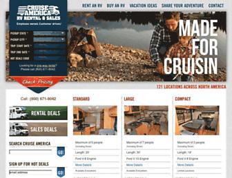 Thumbshot of Cruiseamerica.com