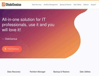 diskgenius.com screenshot