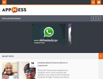 appmess.com screenshot