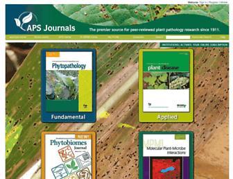 apsjournals.apsnet.org screenshot