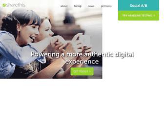 Thumbshot of Sharethis.com