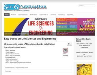 saraspublication.com screenshot