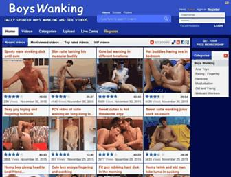 Thumbshot of Boyswanking.com