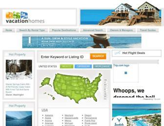 Thumbshot of Vacationhomes.com