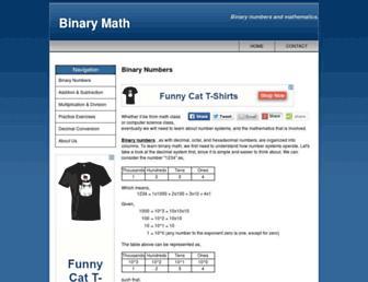 binarymath.info screenshot