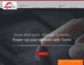 digitalhill.com screenshot