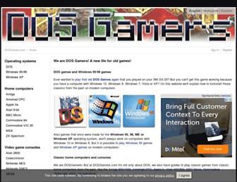 dosgamers.com screenshot