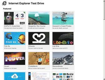 testdrive-archive.azurewebsites.net screenshot