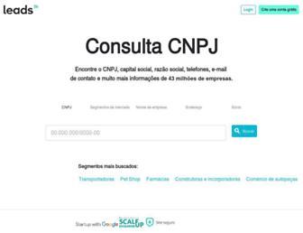 consultacnpj.com screenshot