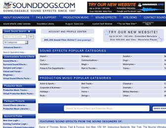 retired.sounddogs.com screenshot
