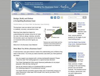business-case-analysis.com screenshot