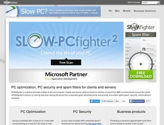 Thumbshot of Spamfighter.com