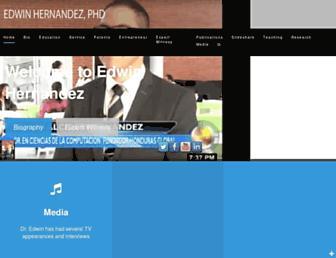 edwinhernandez.com screenshot