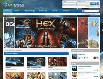 Thumbshot of Gameforge.com