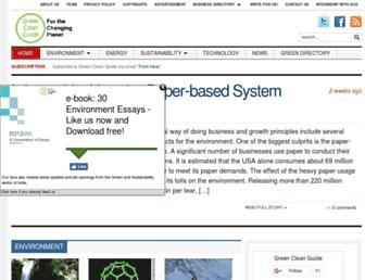 greencleanguide.com screenshot