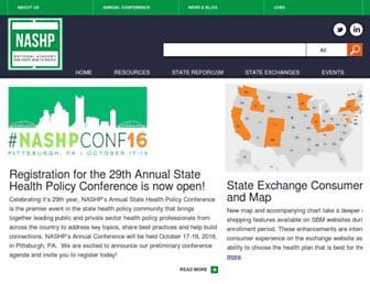 nashp.org screenshot