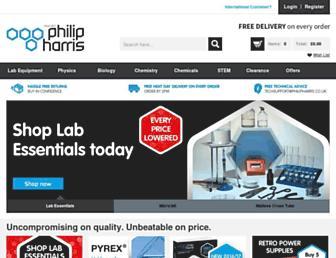 philipharris.co.uk screenshot