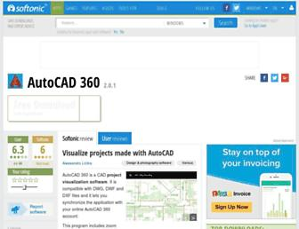 autocad-360.en.softonic.com screenshot