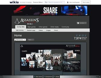 assassinscreed.wikia.com screenshot