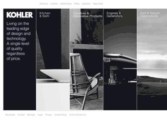 Thumbshot of Kohler.com