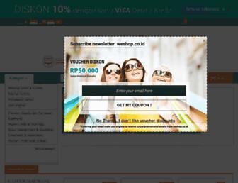 weshop.co.id screenshot