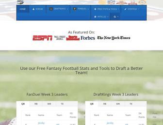 fantasyfootballers.org screenshot