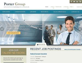 portergroup.com screenshot