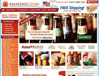Thumbshot of Amazingclubs.com