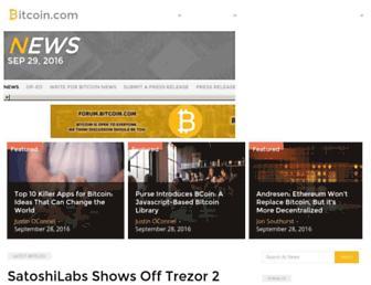 news.bitcoin.com screenshot