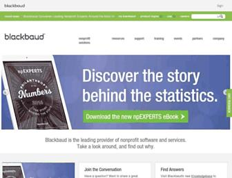 blackbaud.com screenshot