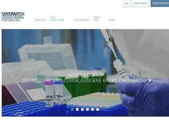 seedmatch.de screenshot