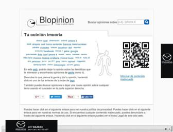 Thumbshot of Blopinion.com