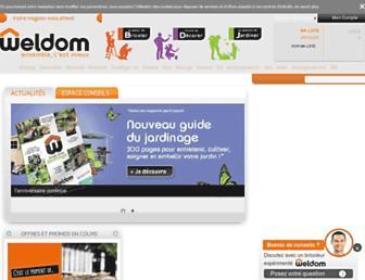 weldom.fr screenshot