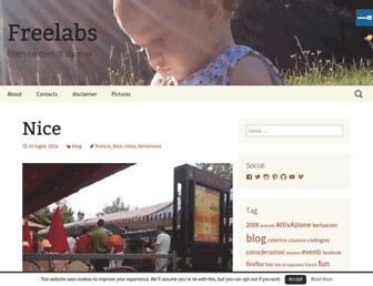 Main page screenshot of sbarrax.it