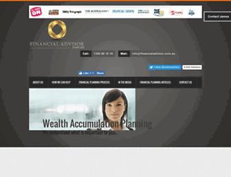 financialadvisor.com.au screenshot