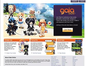 gaiaonline.com screenshot
