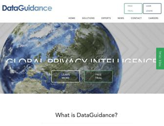 dataguidance.com screenshot