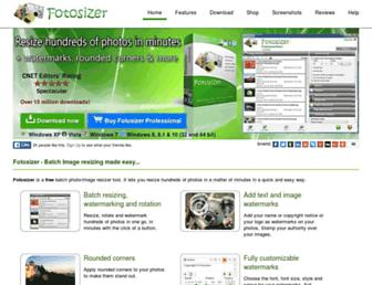 Thumbshot of Fotosizer.com
