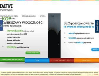 eactive.pl screenshot
