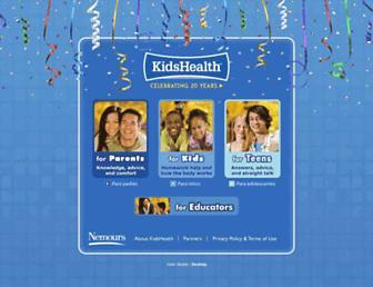 Thumbshot of Kidshealth.org