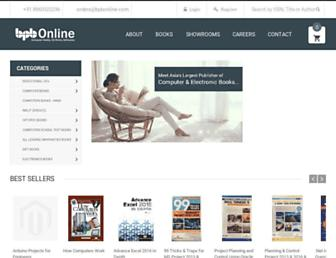 bpbonline.com screenshot