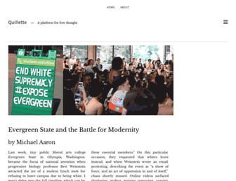 quillette.com screenshot
